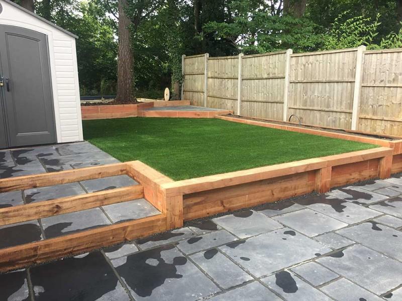 Landscape Gardeners in Fleet Hampshire - Artificial Lawn ...